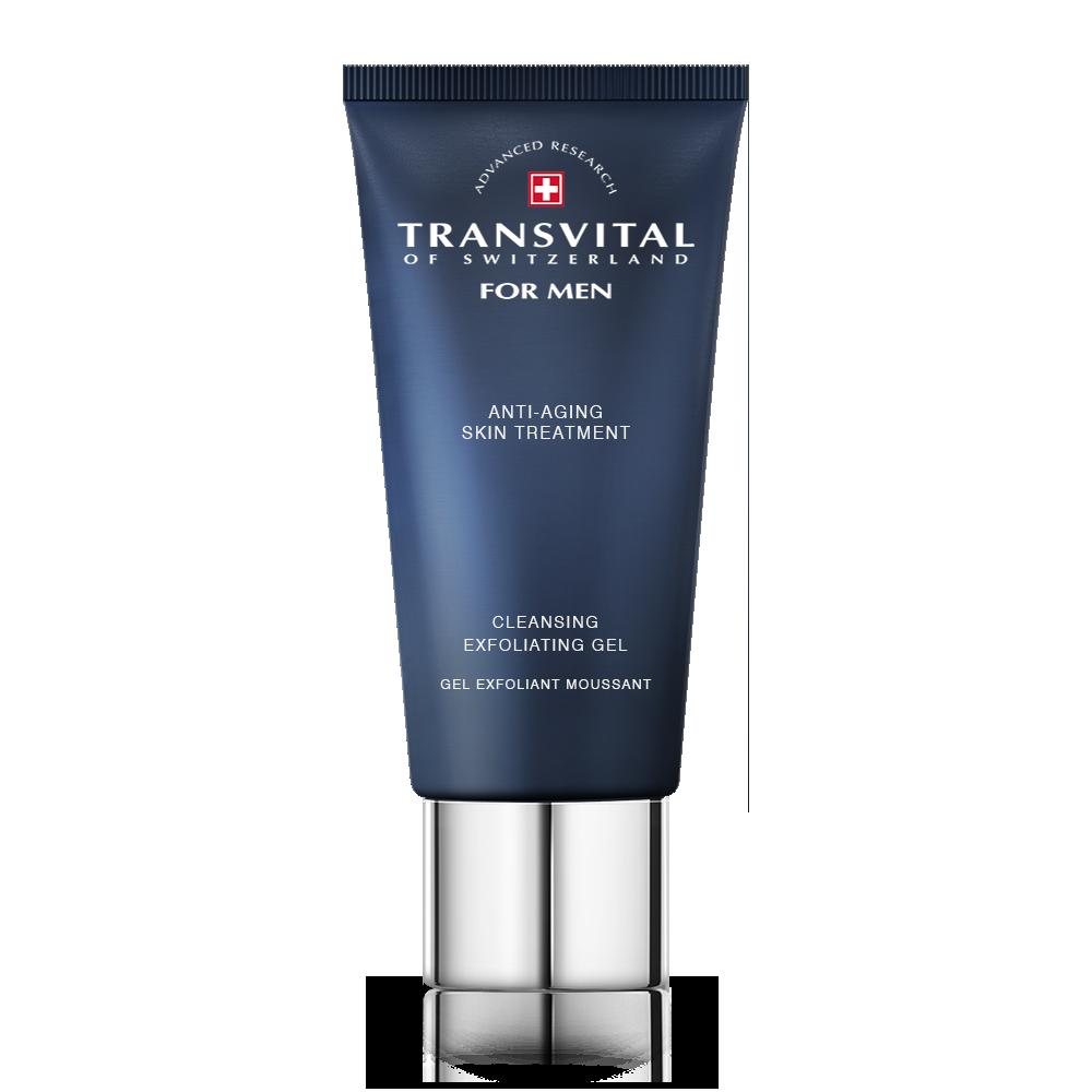 Гель очищающий Transvital для эксфолиации для лица 75 мл