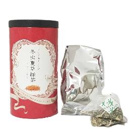 Омолаживающий Японский чай с Кордицепсом, Коллагеном и Имбирем Юкинохада 24 пакетика
