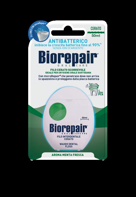 Зубная нить с воском Biorepair® Waxed Dental Floss