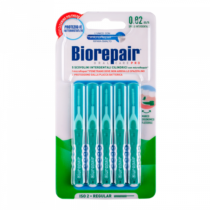 Зубные ершики Цилиндрической формы 0.82 мм Biorepair® Brushes