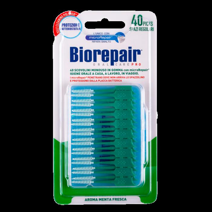 Мягкие палочки для межзубных промежутков Biorepair® Picks Regular