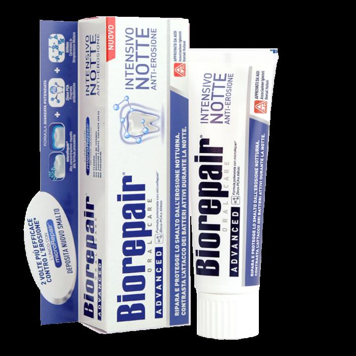 Зубная паста для ночного интенсивного восстановления Биорепейр (75 мл) / Biorepair ® Intensivo Notte