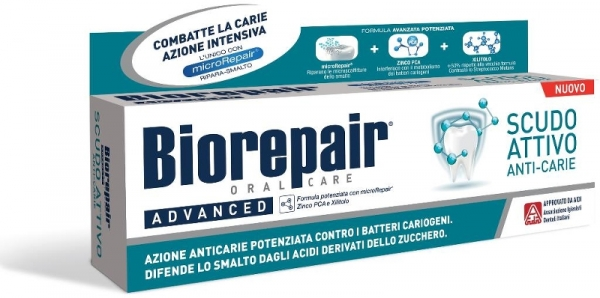 Зубная паста для проактивной защиты Biorepair® Scudo Attivo
