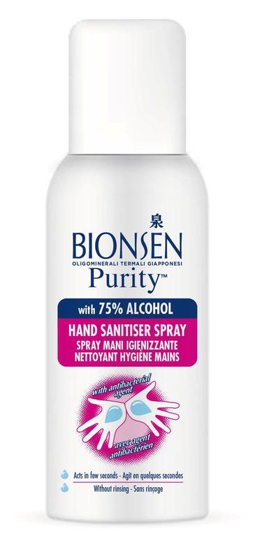 Cпрей Bionsen антибактериальный для рук и тела, 100 мл